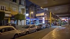 Badaro street at night