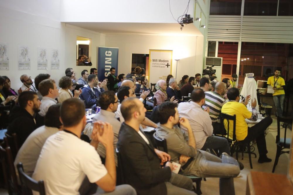 Hackathon crowd