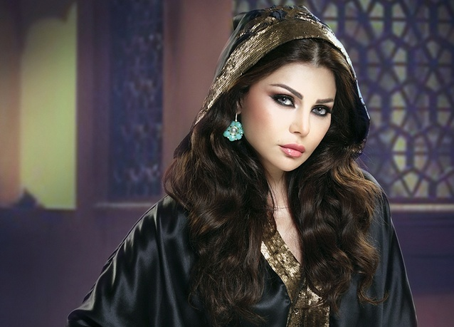 Lebanese popstar Haifa Wehbe did a campaign with Pepsi