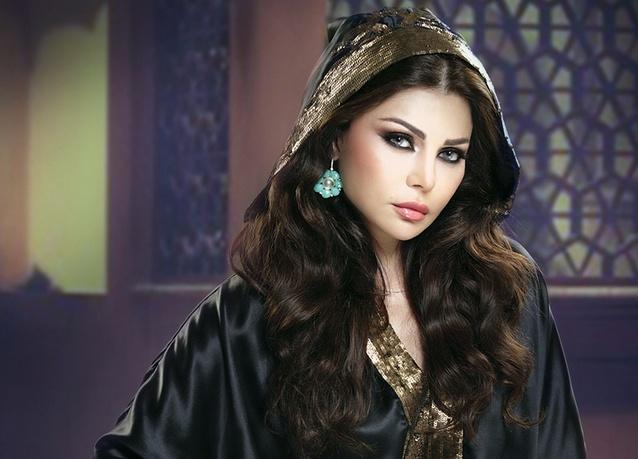 Lebanese popstar Haifa Wehbe did a campaign with Pepsi