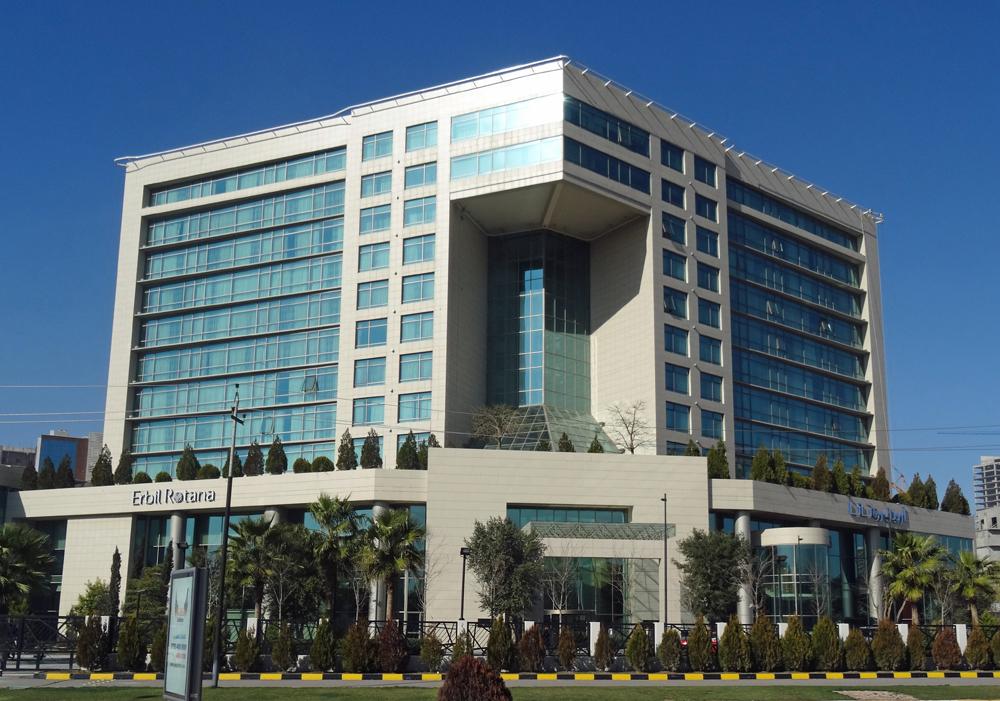 The Erbil Rotana Hotel was inaugurated in 2011