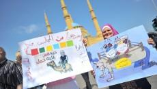 Posters poking fun at the parliamentarians