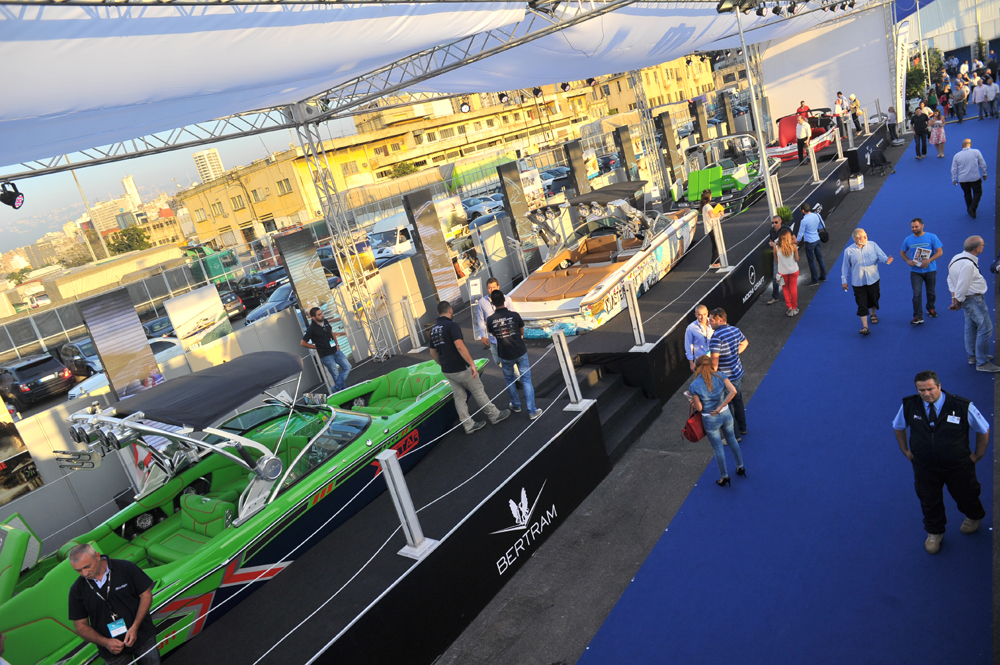 Organizers chose Pier 1 as venue for the boat show