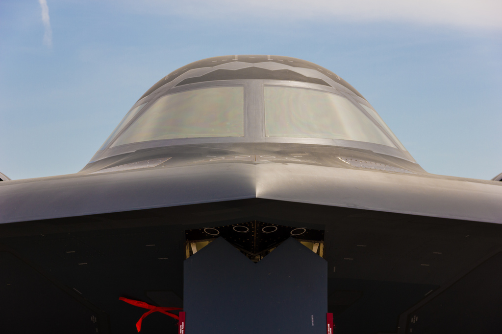 A US stealth bomber