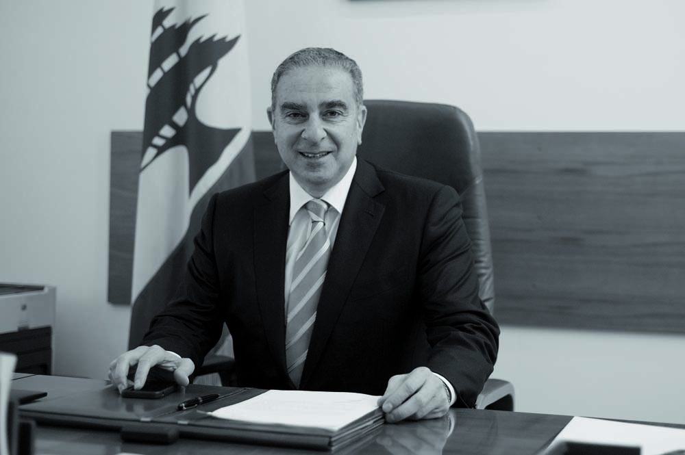 Minister of Tourism Michel Pharaon