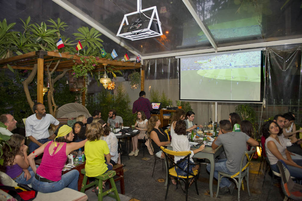 World Cup at Clé, Hamra