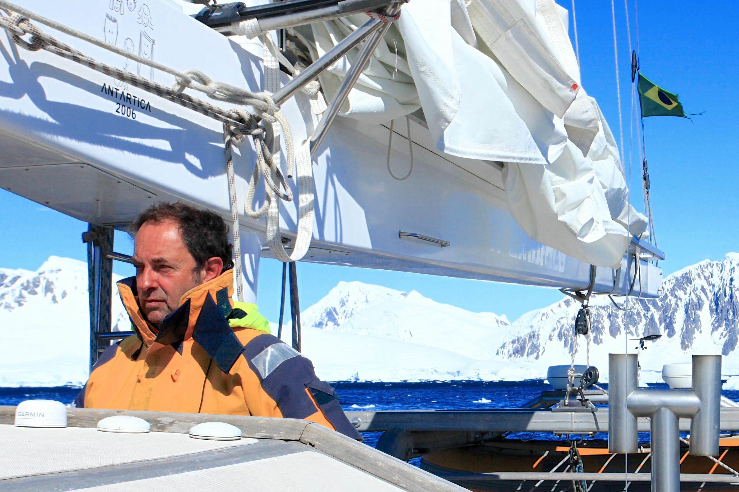 Klink off the coast of Antarctica