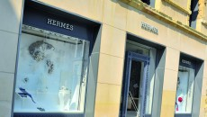 Hermes boutique downtown