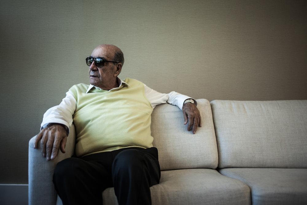 Ernesto Zarzur in Sao Paulo, Brazil, 17 June 2014.