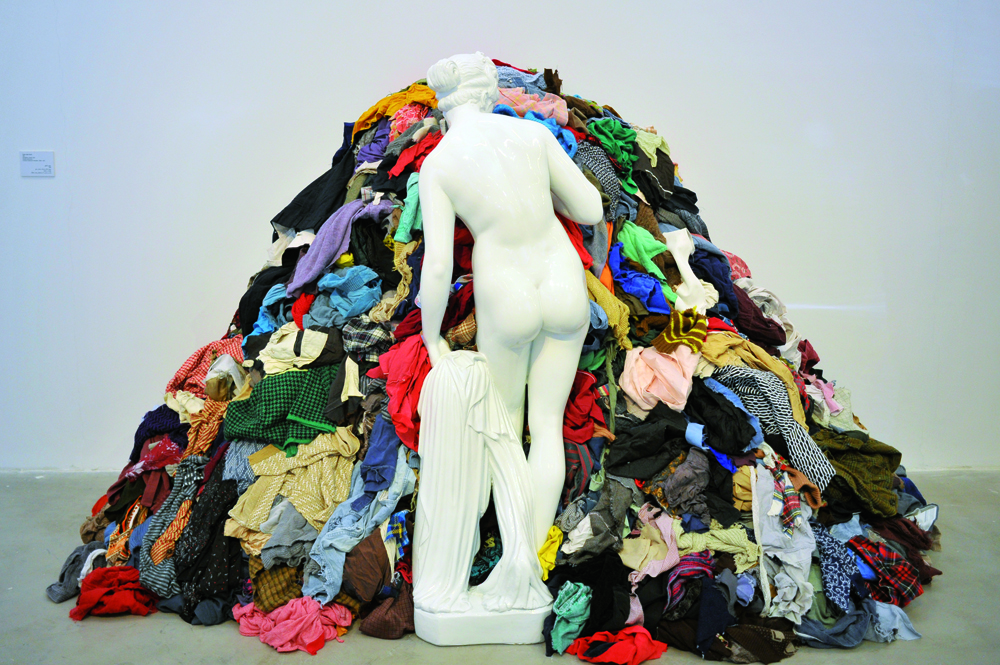"""Venus of the rags"" by Michaelangelo Pistoletto"