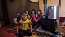 Children in refugee communities are particularly vulnerable to the harsh winter weather