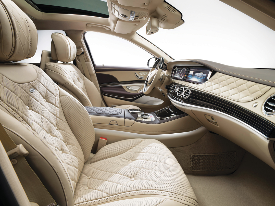 Maybach-Inside Front