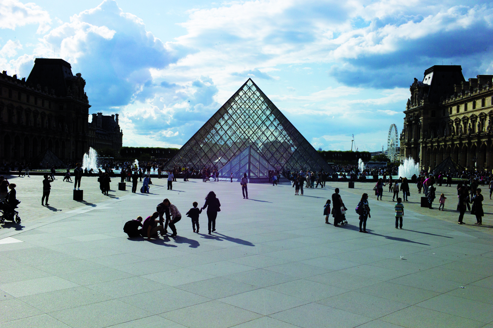 The Louvre, Paris, has an annual operating budget of over 200 million euros.