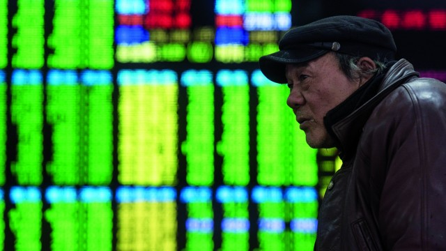 Chinese stocks got off to a really rough start in January | Johannes Eisele | AFP/Getty Image