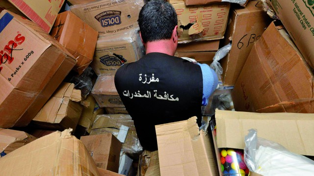 Less than 1 percent of containers at Beirut Port in 2014 were manually searched | Greg Demarque