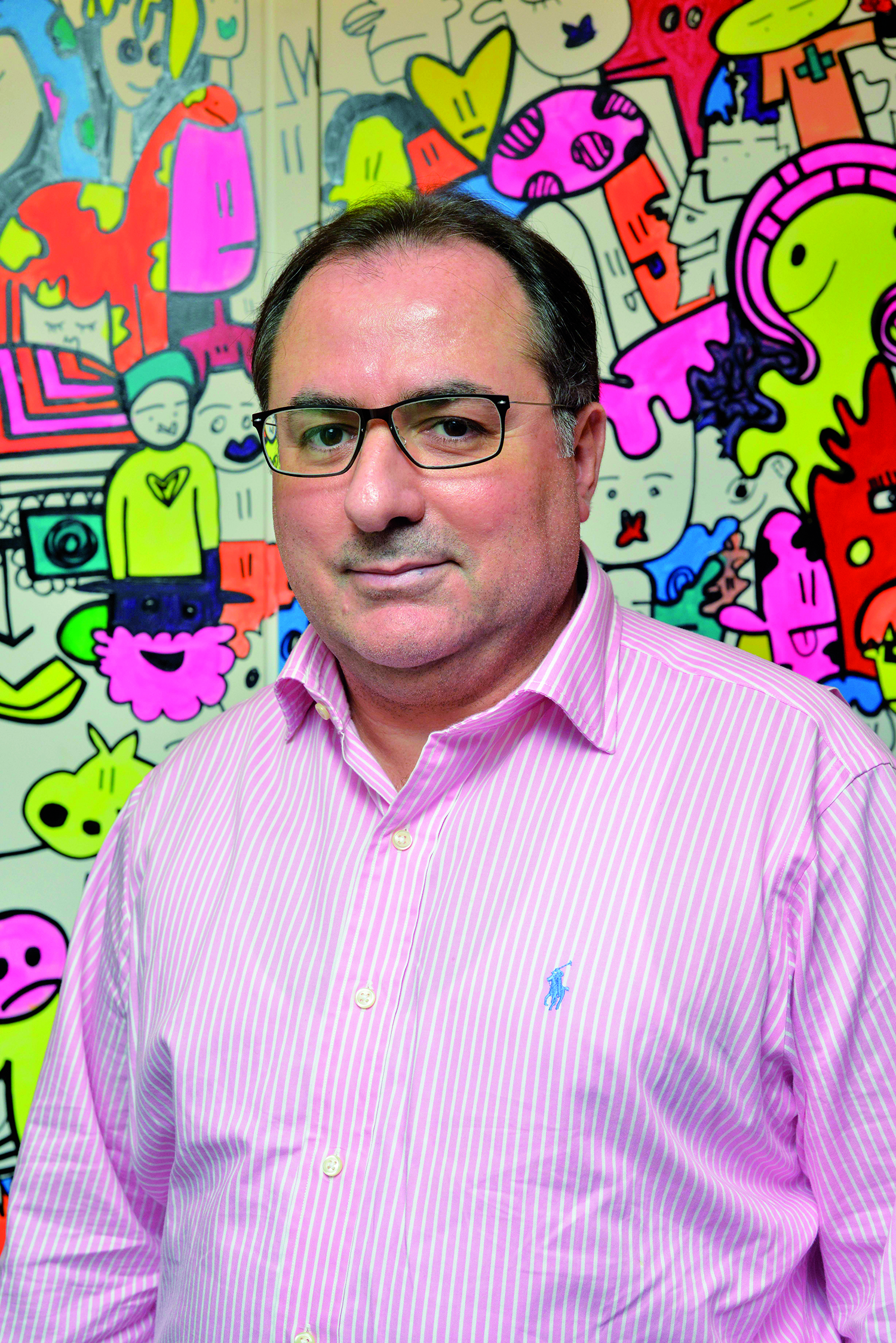 Georges Jabbour, head of Lebanon's Advertising Association, sees the need for a code of ethics | Greg Demarque