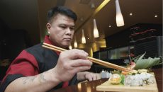 Like most sushi restaurants in Lebanon, Shogun's chef is not Japanese (Greg Demarque | Executive)
