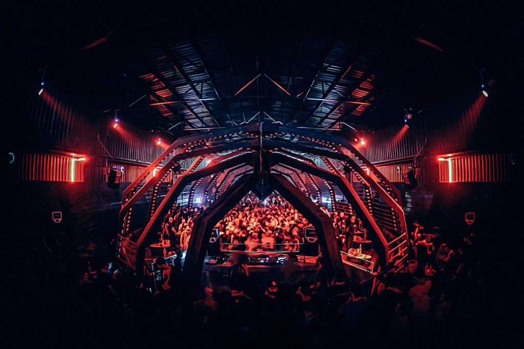 Uberhaus' indoor venue design is inspired by the whale from Pinocchio