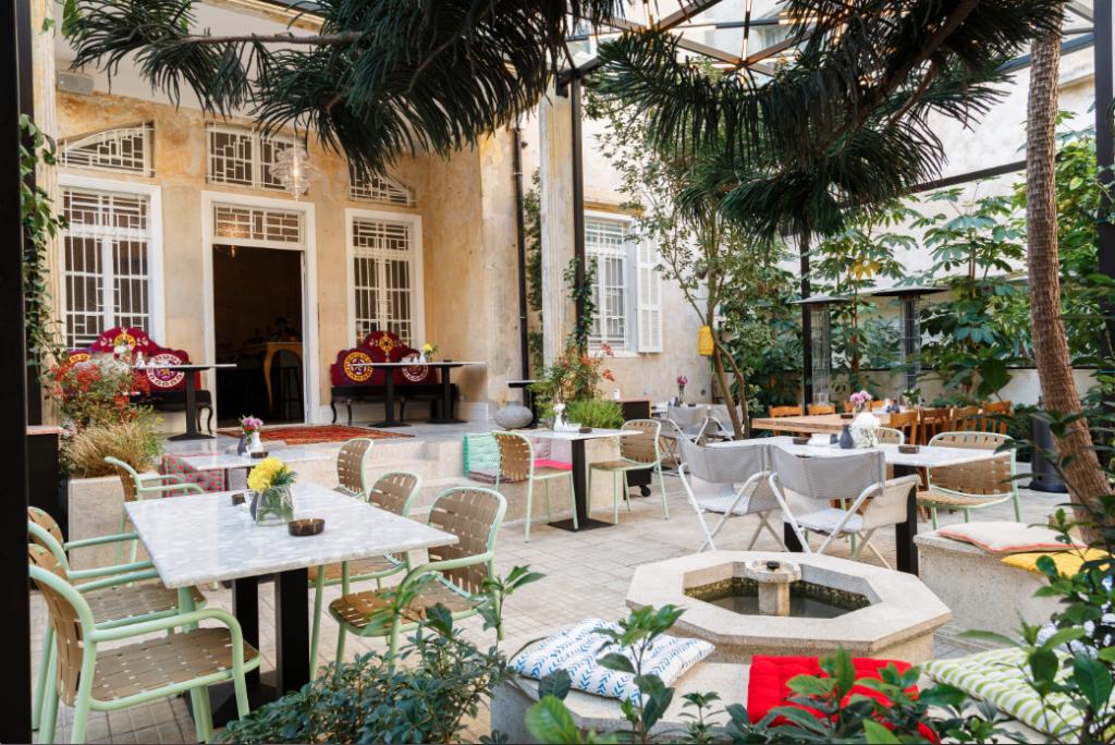 Charming Villa Badaro retains Beirut's traditional architecture style