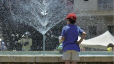 When cities do get money they can only afford beautification projects like fountains (Photo: Greg Demarque | Executive)