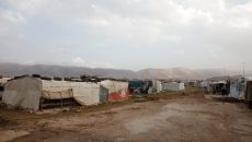 An 'informal tented settlement' in Lebanon's Bekaa valley UK Department for International Development  | Flickr | CC BY-SA 2.0