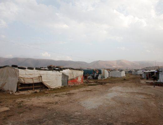 An 'informal tented settlement' in Lebanon's Bekaa valley UK Department for International Development    Flickr   CC BY-SA 2.0