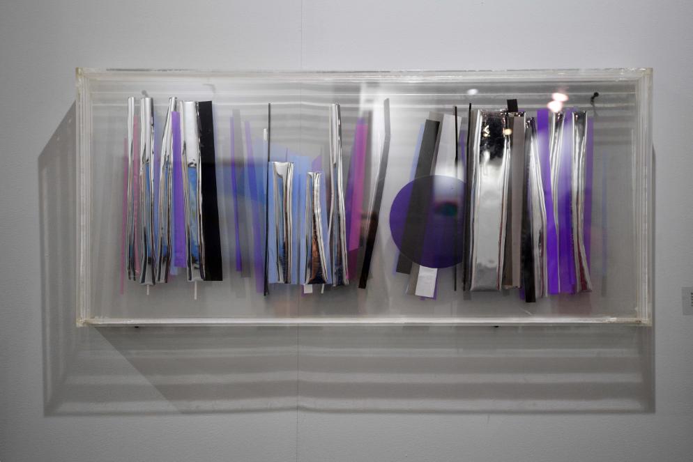 Nadia Saïkali's progressive plexiglass art   photo: Greg Demarque