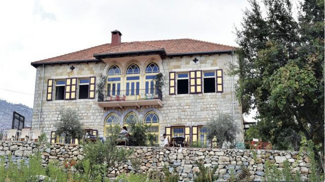 The Beit Douma guesthouse