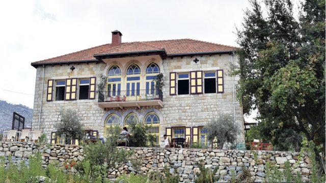 The Beit Douma guesthouse